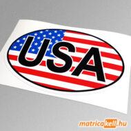 Amerikai USA felségjelzés matrica