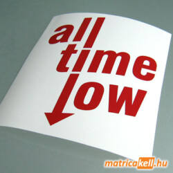 All time low matrica