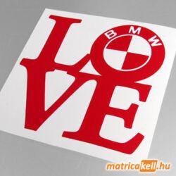 BMW love matrica