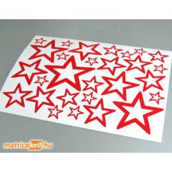 Csillag matrica szett