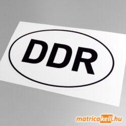 DDR felségjelzés matrica