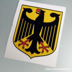 Deutschland német címer matrica