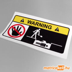Don't touch! matrica