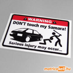 Don't touch my Lada Samara matrica