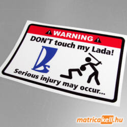 Don't touch my Lada matrica