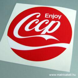 Enjoy CCCP matrica