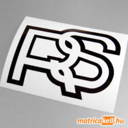 Ford RS retro logo matrica