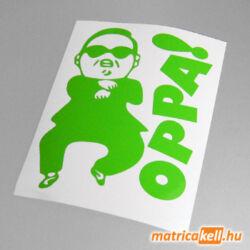 Gangnam style matrica (OPPA!)