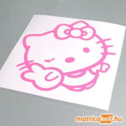 Hello Kitty peace matrica