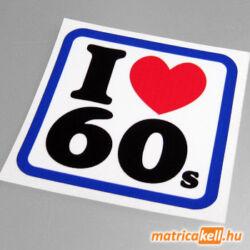 I love 60's matrica
