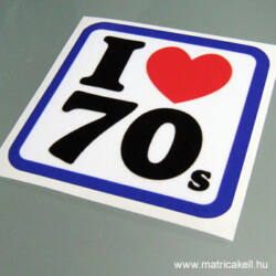 I love 70's matrica