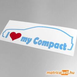 I love my BMW Compact matrica