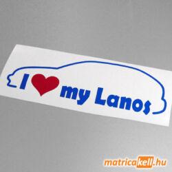 I love my Daewoo Lanos matrica