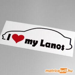 I love my Daewoo Lanos sedan matrica