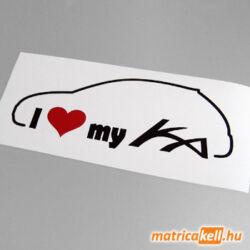 I love my Ford KA matrica