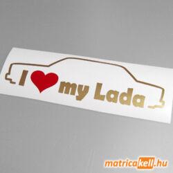 I love my Lada 2105 2107 matrica