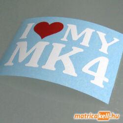 I love my MK4 matrica