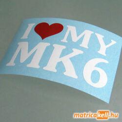 I love my MK6 matrica