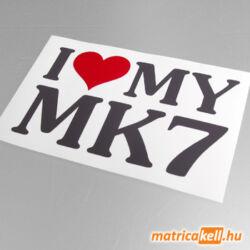 I love my MK7 matrica