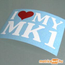 I love my MK1 matrica