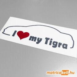 I love my Opel Tigra Mk2 matrica