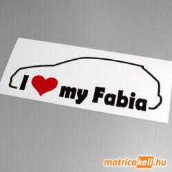 I love my Skoda Fabia matrica