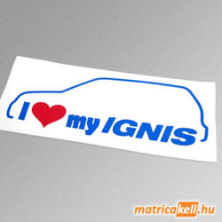 I love my Suzuki Ignis matrica