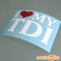 I love my TDI matrica