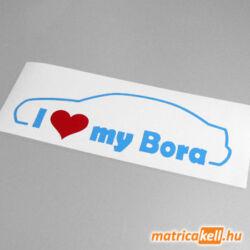 I love my Volkswagen Bora matrica