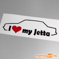 I love my Volkswagen Jetta mk1 matrica