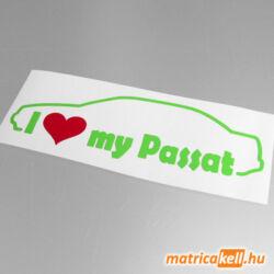 I love my Volkswagen Passat B3 sedan matrica