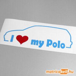 I love my Volkswagen Polo 6N matrica