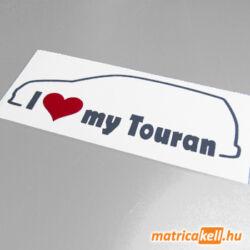 I love my Volkswagen Touran matrica