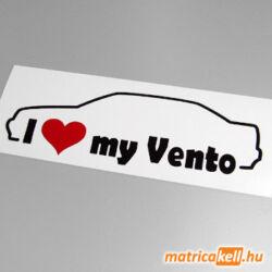 I love my Volkswagen Vento matrica