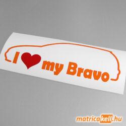 I love my Fiat Bravo matrica