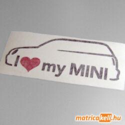 I love my new MINI matrica