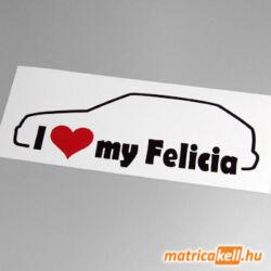 I love my Skoda Felicia matrica