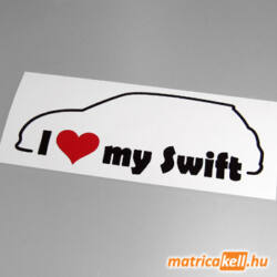 I love my Suzuki Swift mk3 matrica