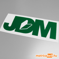 JDM felirat matrica