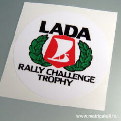 Lada Rally trophy matrica
