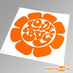 Love Bug VW Bogár matrica
