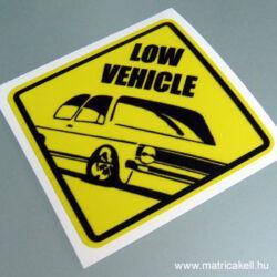 Low vehicle Volkswagen Golf 1 matrica