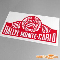 Mini Cooper Rallye matrica