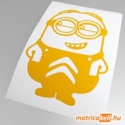 Minion Citroen matrica