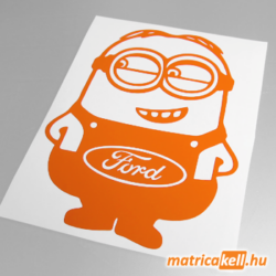 Minion Ford matrica