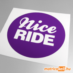 Nice ride matrica