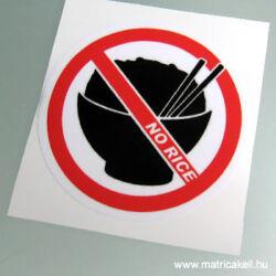 No Rice! matrica