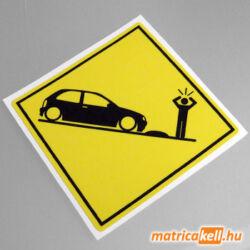 Opel Corsa B speedbump matrica