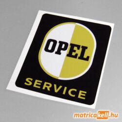 Opel Service retro matrica