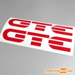 Opel GTE felirat matrica
